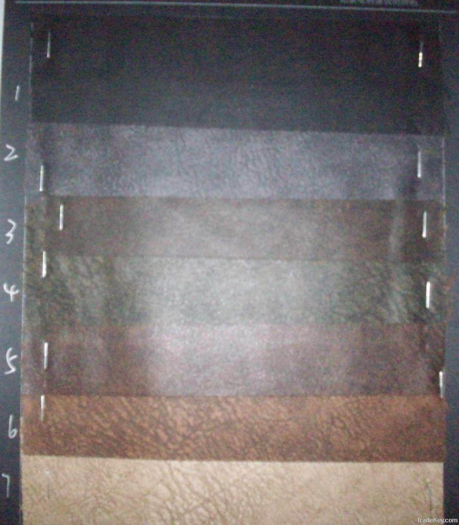 Antique Distressed PVC/PU leather