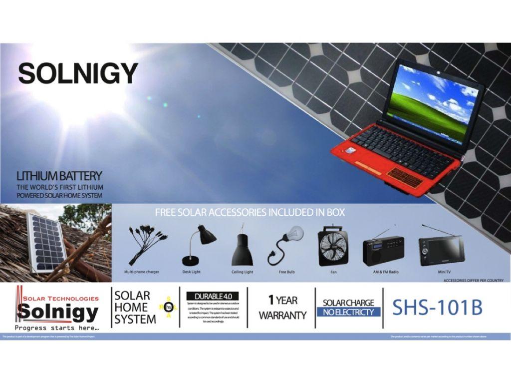 Off-Grid Solar Energy For Mini Laptop