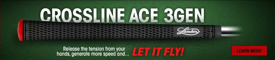 Crossline ACE 3GEN Golf Grips