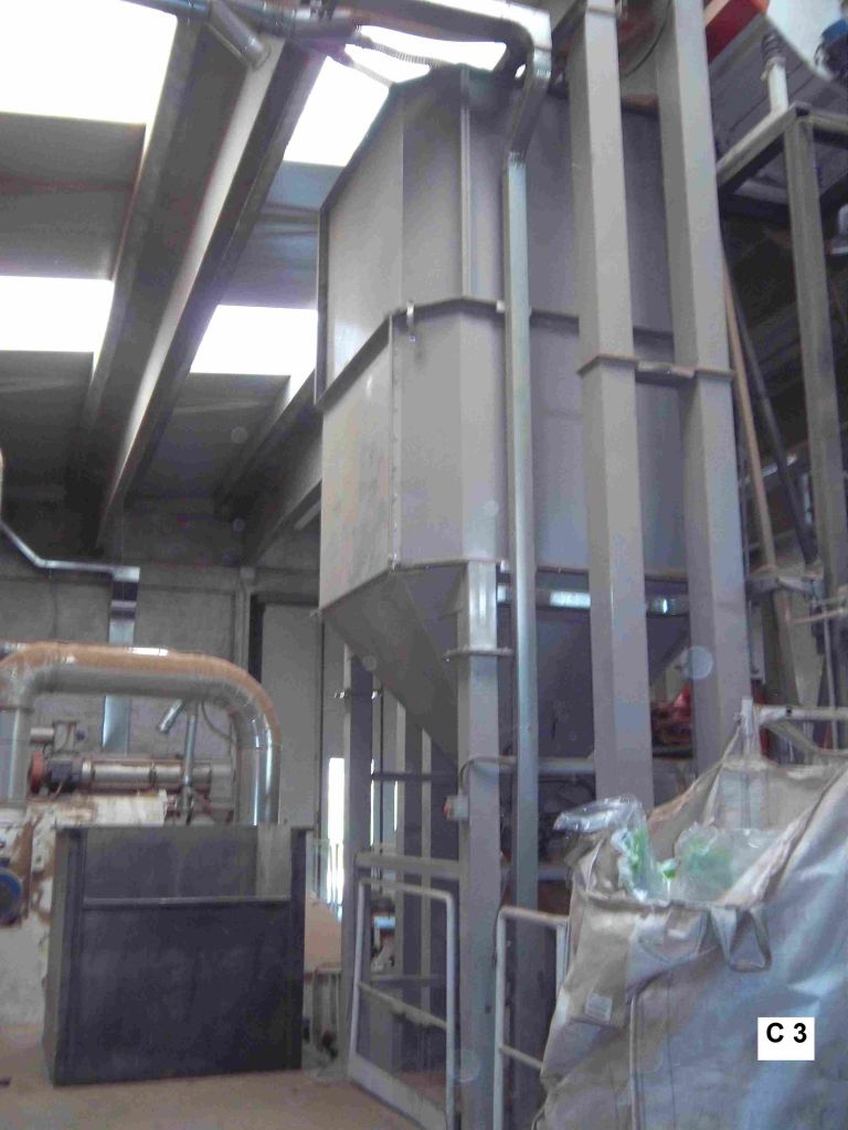 Used Complete Wood Pellet Production Line 4 MT/h (