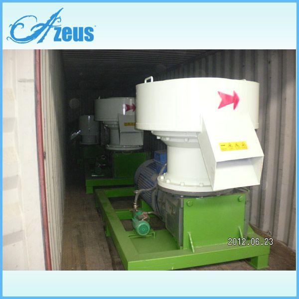 2013 hot sale flat die wood pellet mill with high efficiency