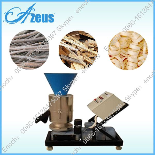 High Quality Flat Die Biomass Wood Pellet Mill with CE Certificate