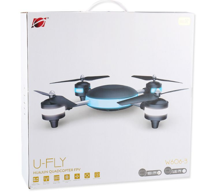 U-Fly FPV built in camera, headless drone, position holding, auto takeoff and landing features