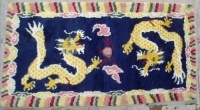 Tibetan Hand-knitted Wool Tapestry Rug Carpet
