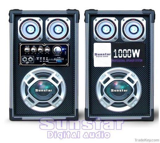 2.0 dj professional stage speaker