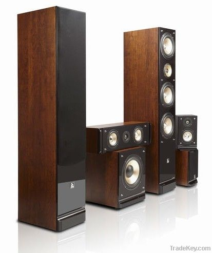 5.1 passive home theater speaker with big power