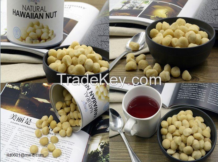 Nature Time Hawaiian nut Orangic Snack and breakfast 200G