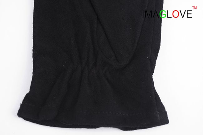 100% Goat Suede Glove, Winter Warm and Fashion Leather Glove