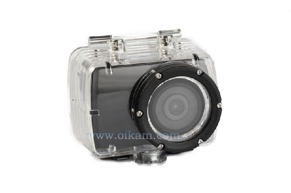 Wholesale Full HD 1080p Sport Camera Waterproof 30m With 5m Remote Control Built-in LCD Helmet Camera Extreme Camera