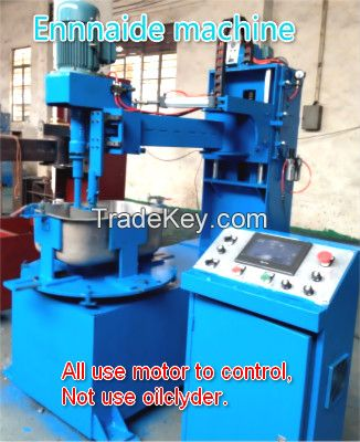 New servo motor control sink side belt machine, buff machine, polishing machine