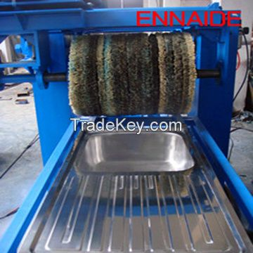 sink polishing machine on the sink surface