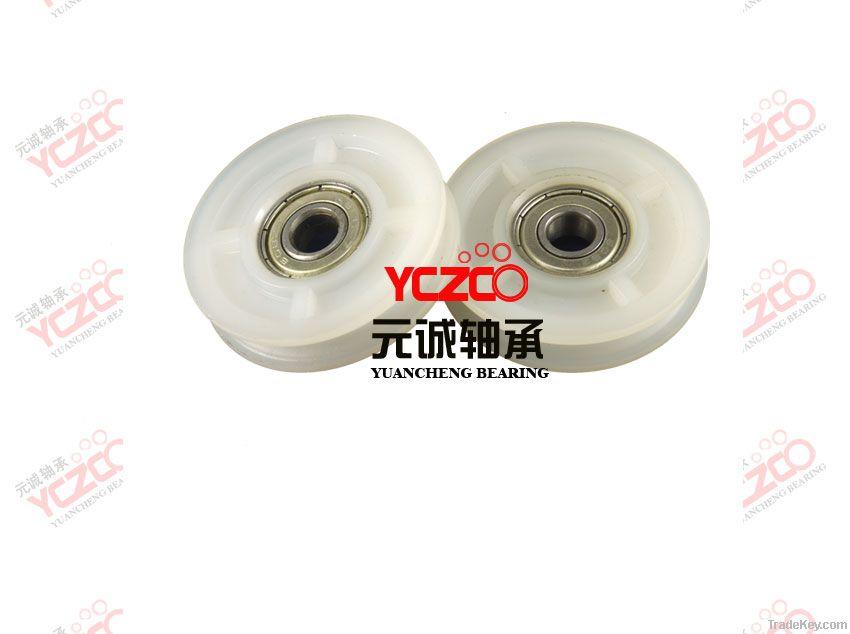 Stainless steel bathromm roller  door roller manufacturer