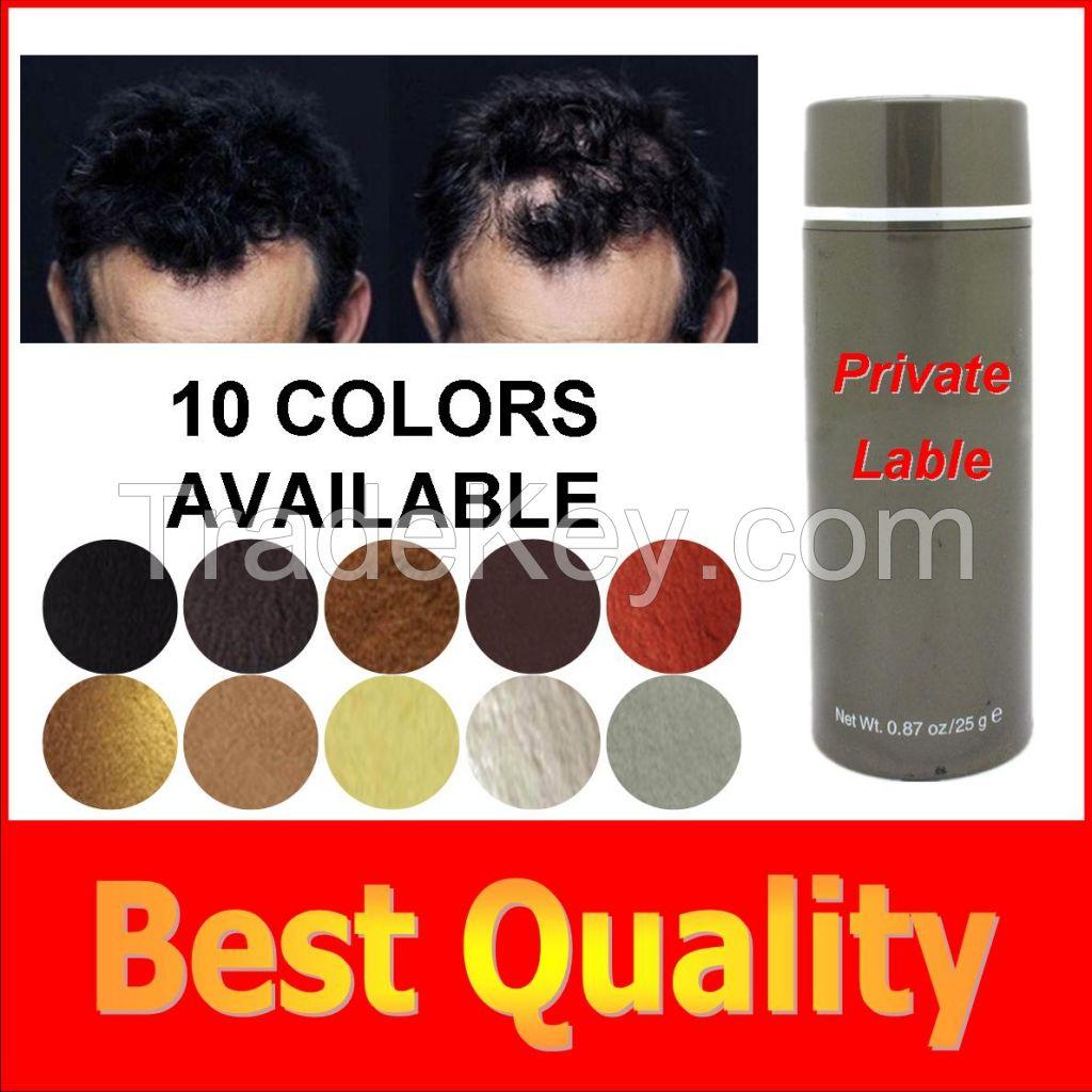 Best Hair Building Fiber Hair Loss Treatment For Men and Women for OEM