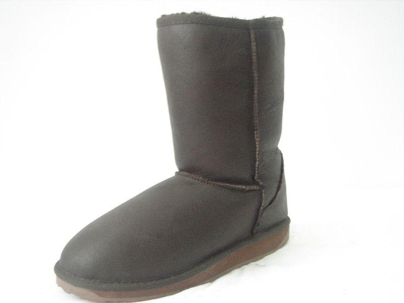 sheepskin winter boots