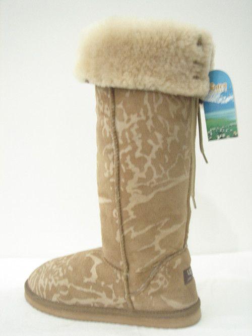 women sheepskin boots