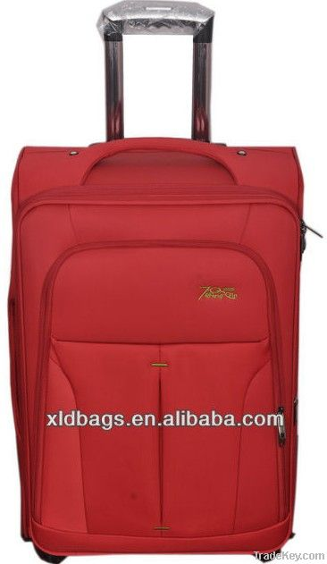 2013 Brand Aluminum Built-in High Quality Luggage Trolley Bag