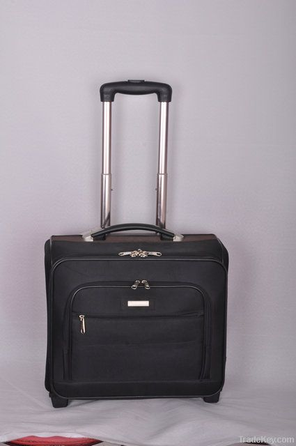 2013 best popular  1680D nylon black Business trolley luggage