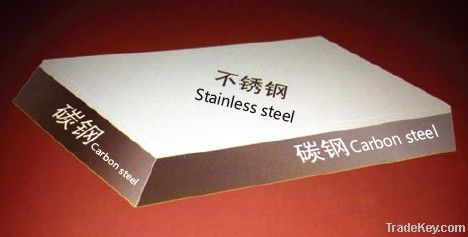 clad plate/ carbon steel+stainless steel Q235B+304/321/316