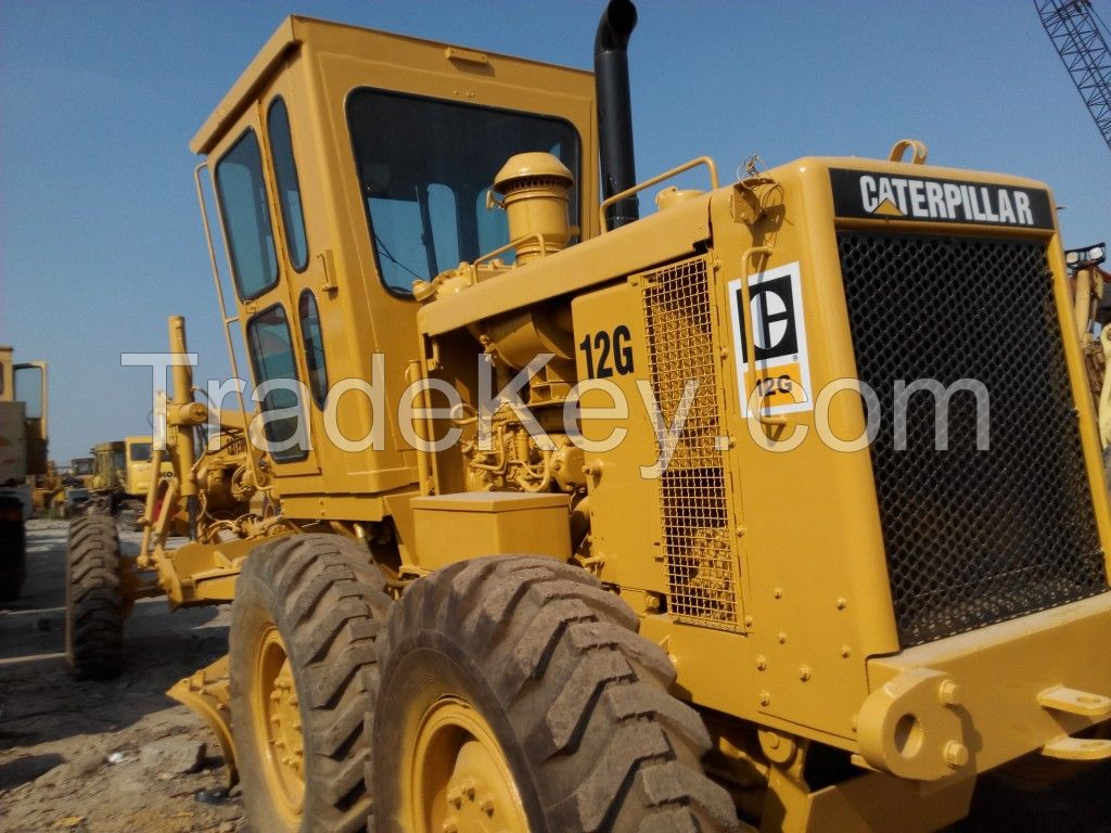 Used CAT Motor Graderr 12G/14G/120G/140G/140H For Sale
