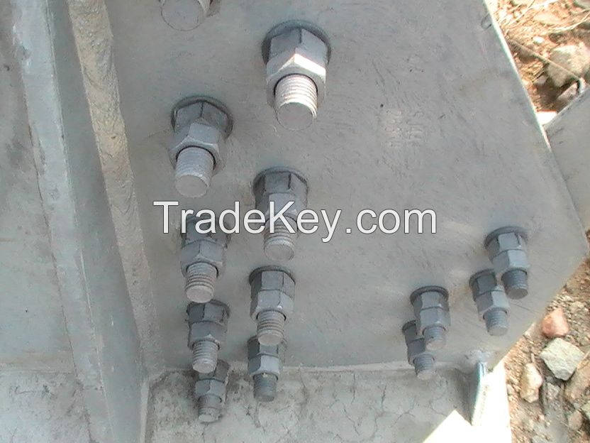 Anti Theft and Anti Loose Hex Nuts M-24 with Spring and Ball