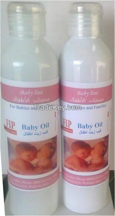 FIP Baby oil