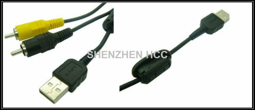 2 in 1 VMC-MD1 USB AV Cable for Sony