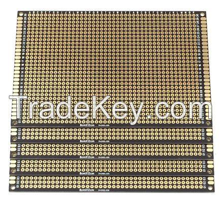 Breadboards Universal PCB 8*12 CM Black Color
