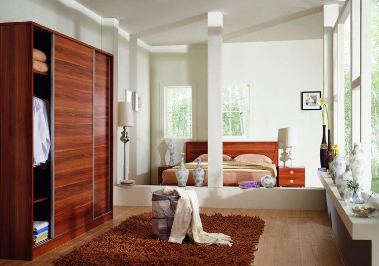 Roose wood bedroom furniture wardrobe