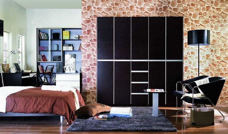 knife wood dark color bedroom furniture