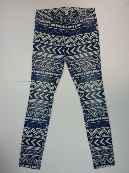 Ladies National allover Printed jeans