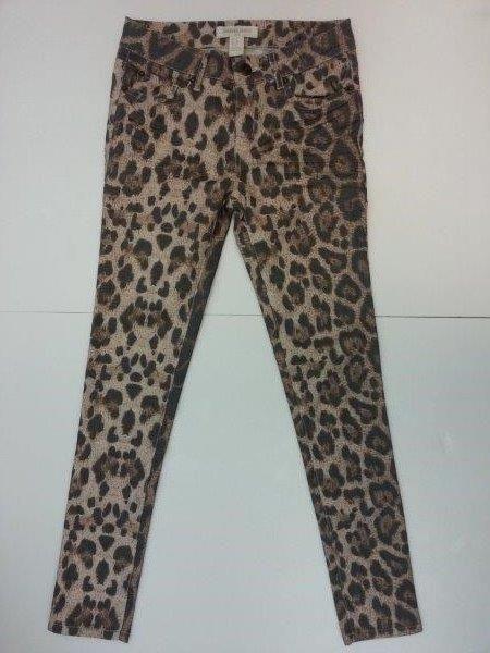 Ladies Leopard Print Pants/Trousers