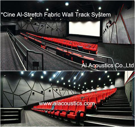 Cine Al-Stretch Fabric Wall Track System