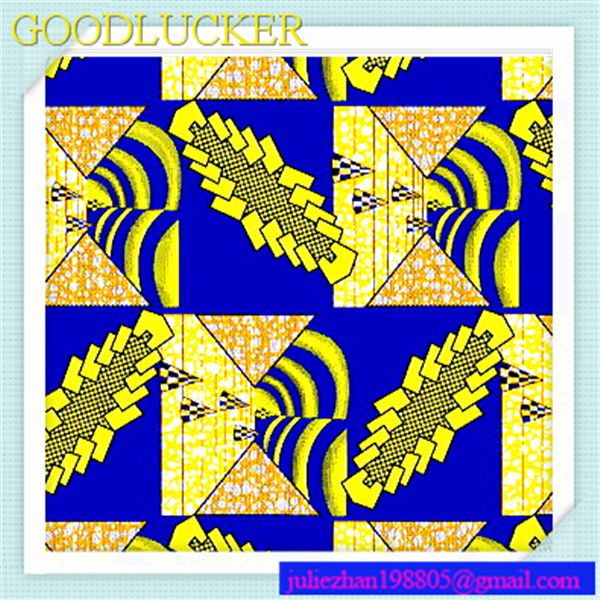 African Textile Jacquard Fabric