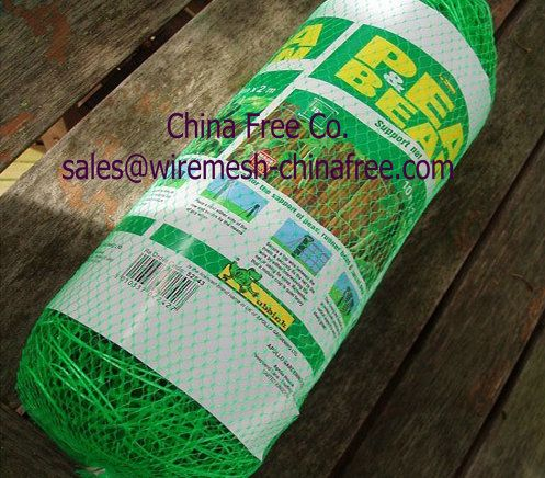 Plant Support Netting - plastic Plant Support Netting