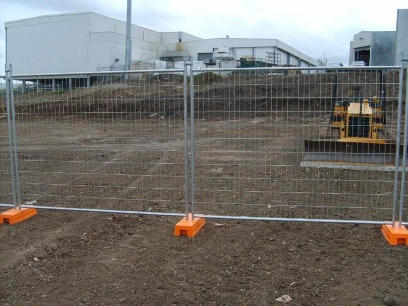 temporary fence - temporary fencing