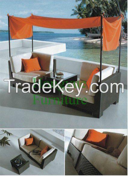 Garden Rattan Sofa Set Furniture Supplier