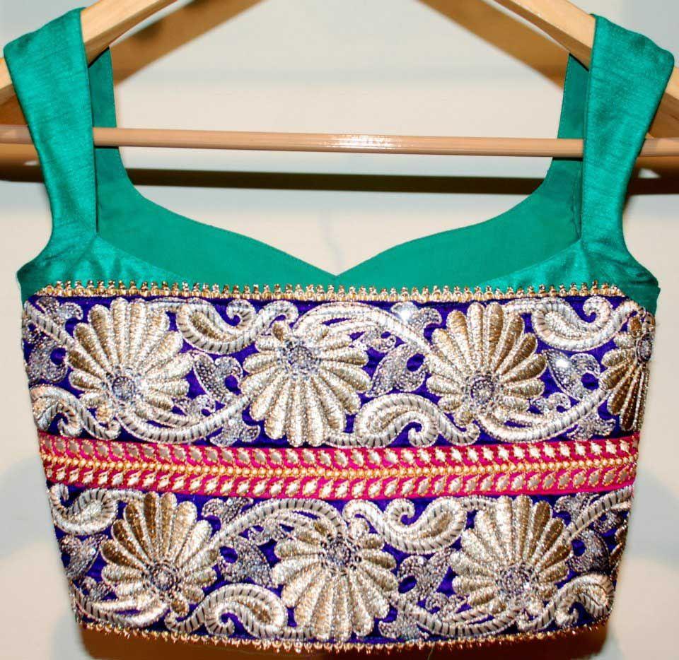 Designer-Saree-Blouse stitching by Expert Tailors.
