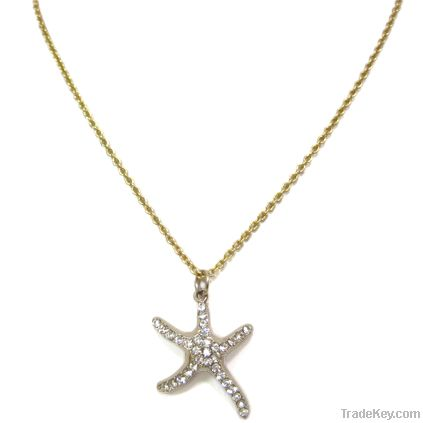 New Fashion Star Pendant Necklace Jewelry