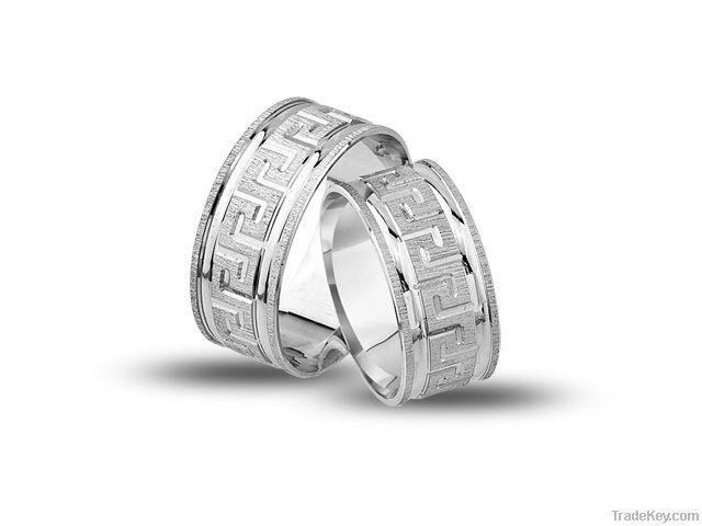 925 Sterling Silver Wedding Rings