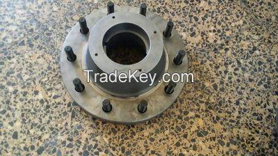 wheel hub, idler hub, axle hub, hub;drum, axle components, axle assemblies