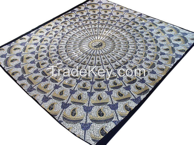 Indiart Bedspreads, Bed sheets and Bedcovers