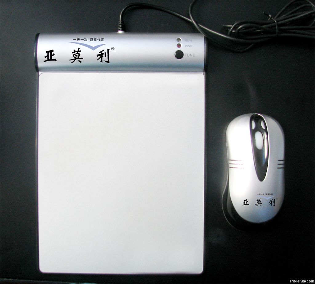 newest 3d flashing optical wireless mouse