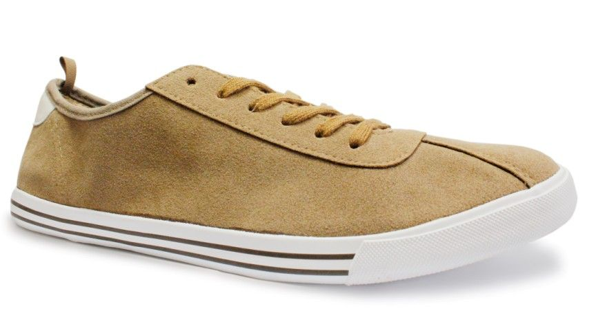 Canvas shoes for men low cut and fleece upper