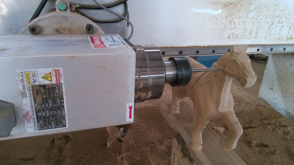 Hot sale cnc wood machine 4 axis cnc router