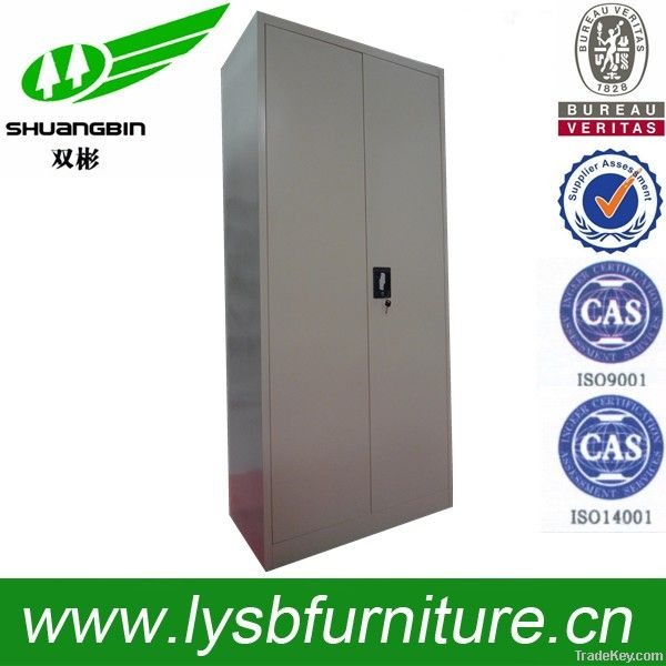 2 door storage cheap steel cabinet