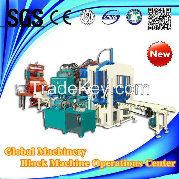 QT4-20C hydraulic automatic brick making machine