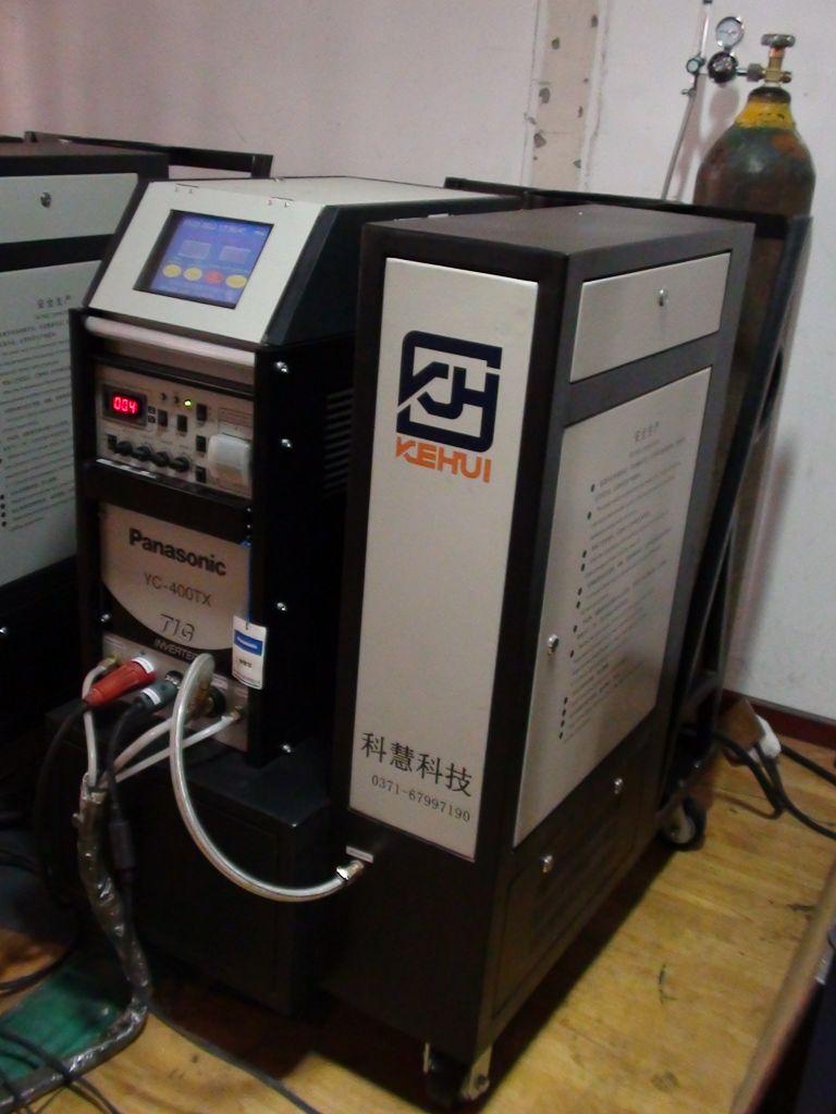Automatic IGBT inverter pipe orbital welding machine