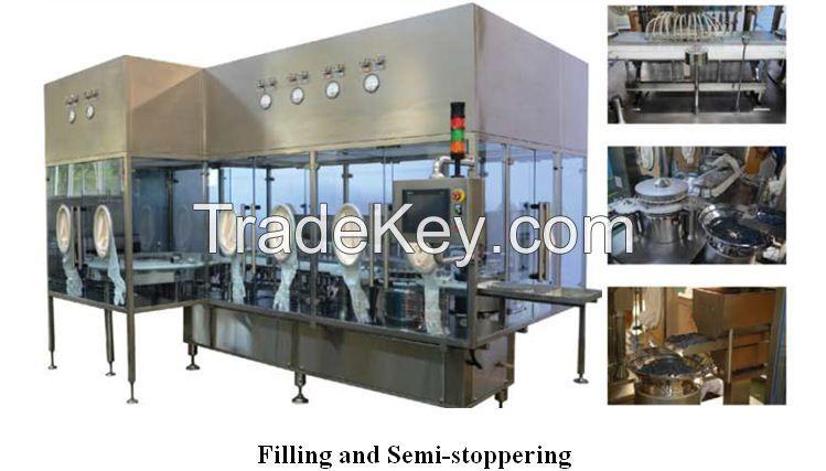 SHINVA liquid vial filling line