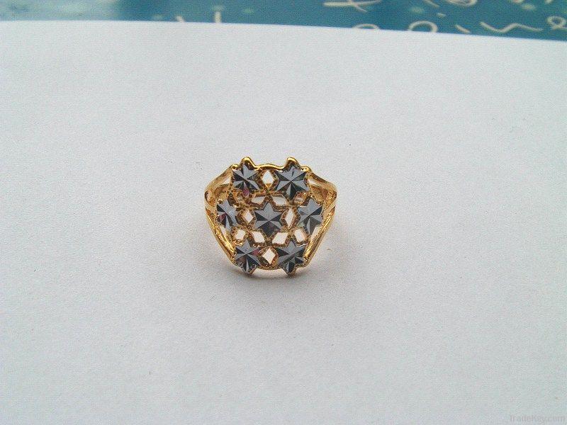 gold-plating rings