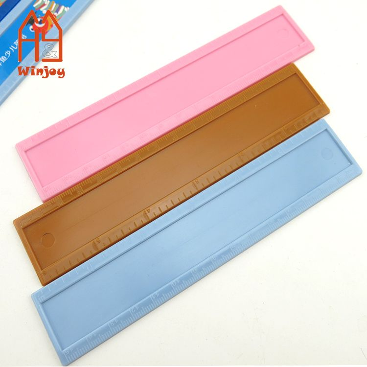 15cm plastic ruler for kids, promotional rulers for measure